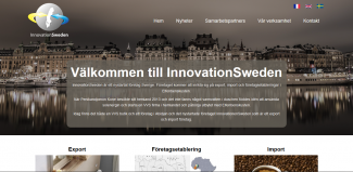 screenshot av innovationsweden.se .